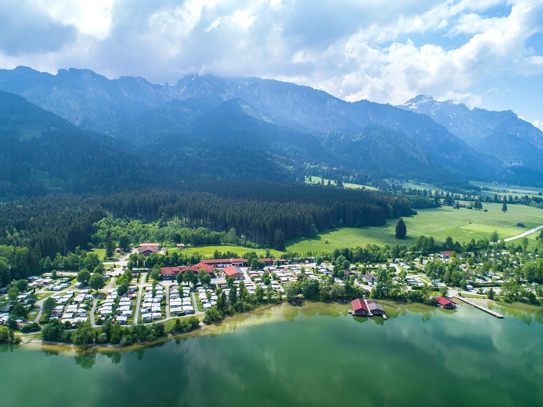 Campingplatz Bannwaldsee, Schwangau