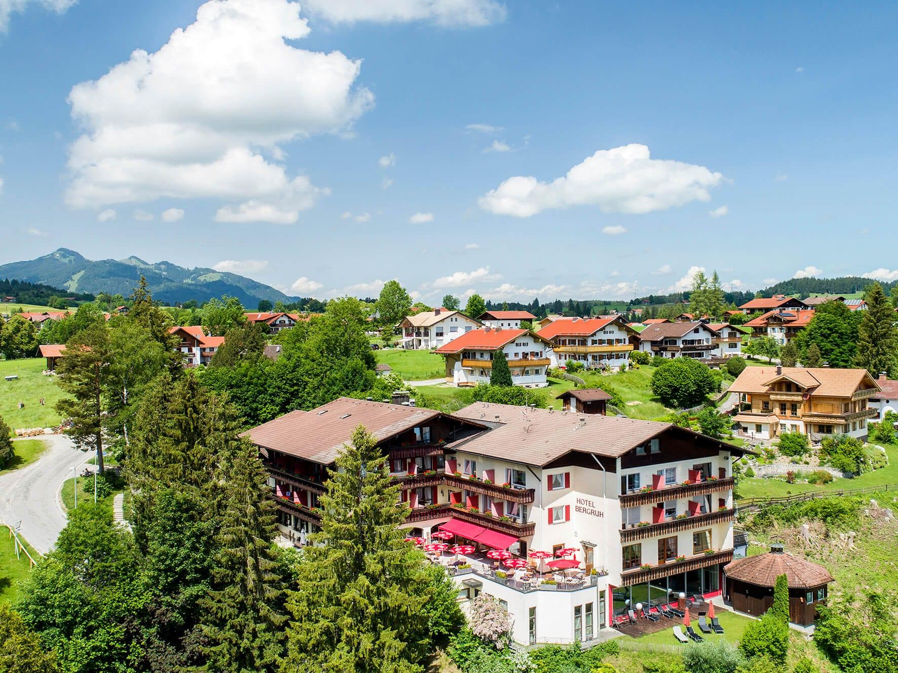 Hotel Bergruh, Weissensee