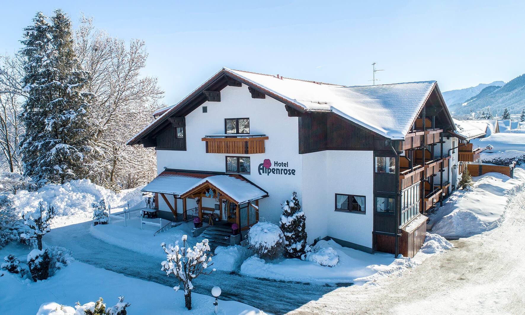 Hotel Alpenrose, Nesselwang